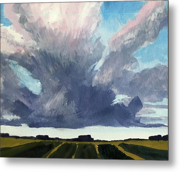 Cloud Sky Metal Print