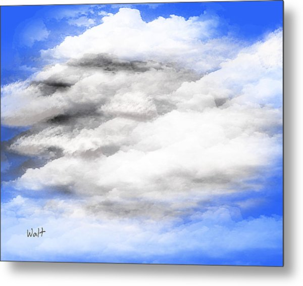 Clouds 2 Metal Print