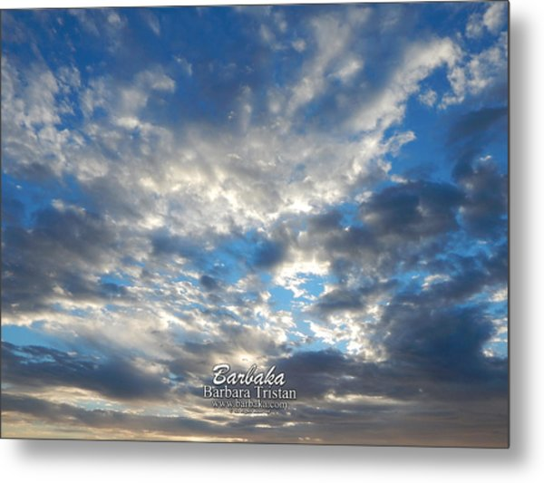 Clouds #4049 Metal Print