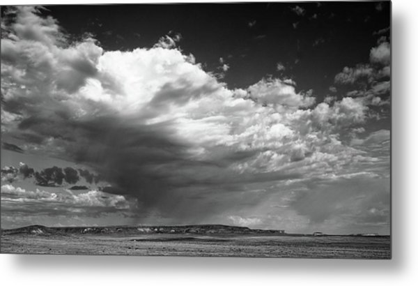 Clouds Along Indian Route 13 Metal Print