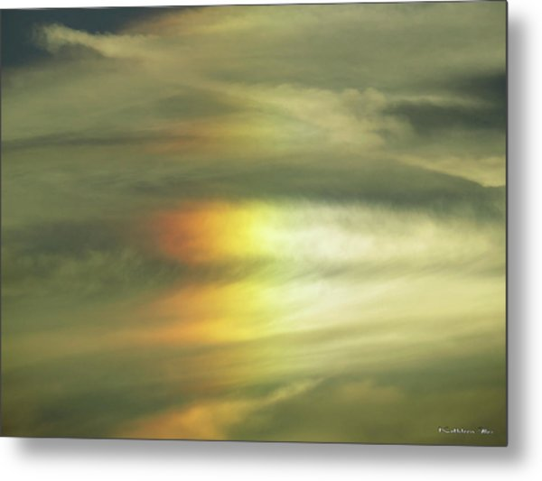 Clouds And Sun Metal Print