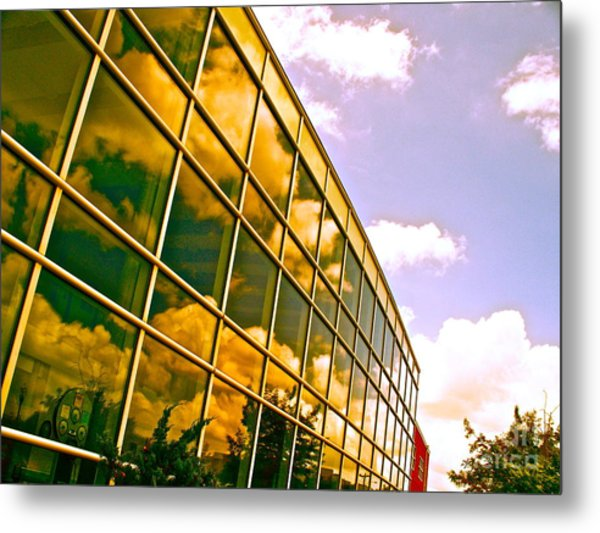 Clouds Do Talk Metal Print by Chuck Taylor