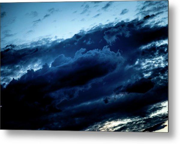 Metal Print featuring the photograph Clouds Fall by Eric Christopher Jackson