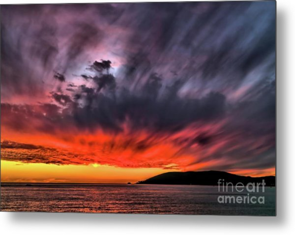 Clouds In Motion Before The Storm Metal Print