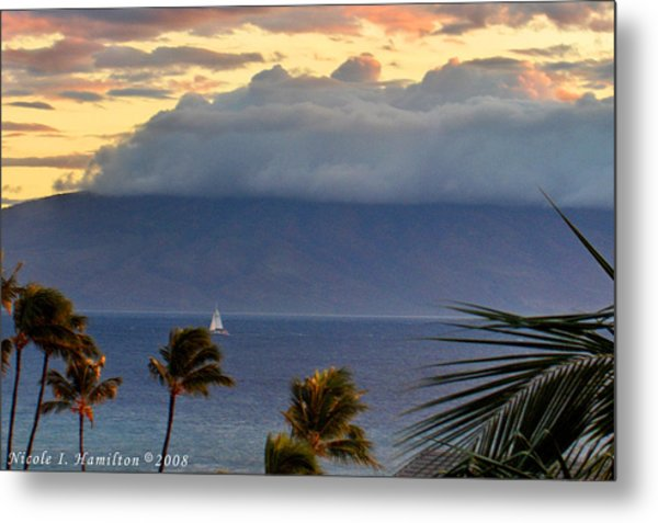 Clouds On The Mountain Top Metal Print by Nicole I Hamilton