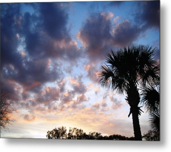 Clouds On The Move Metal Print by Francis Roberts ll