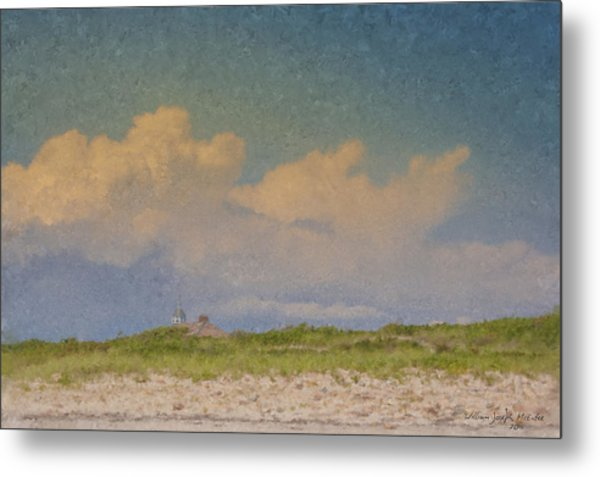 Clouds Over Goosewing Metal Print