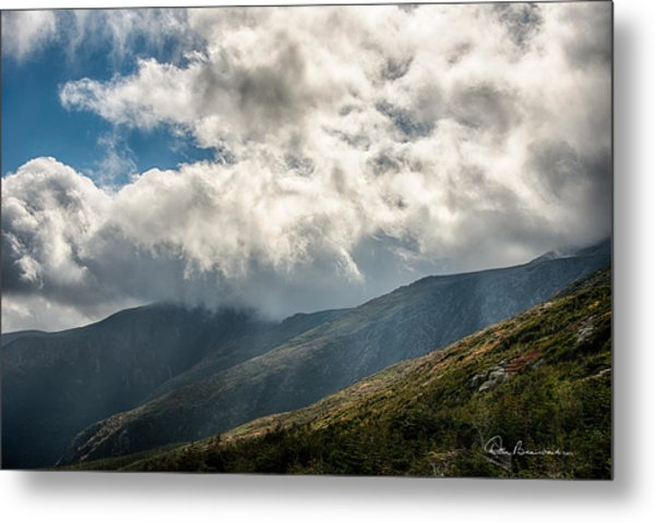 Clouds Over Mount Washington 7592 Metal Print