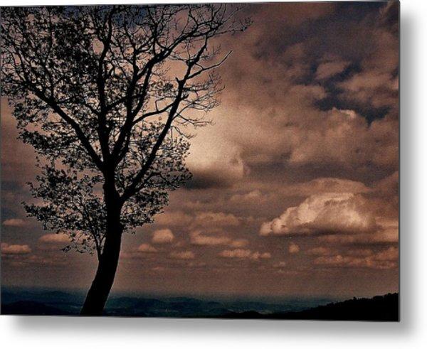 Clouds Over Shenandoah Metal Print