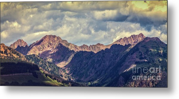 Clouds Over The Gore Range Metal Print