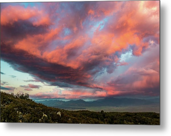 Clouds Over Warner Springs Metal Print