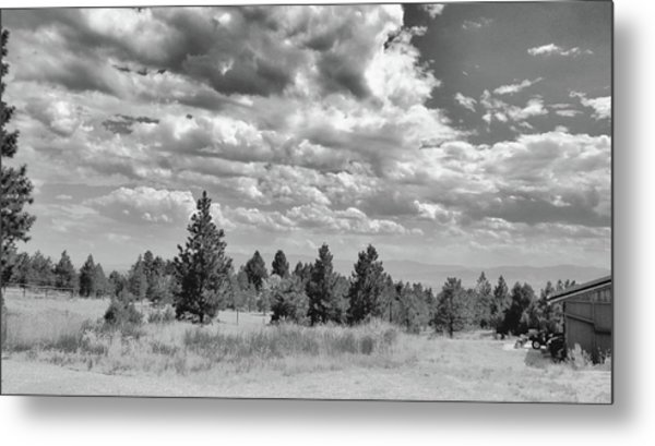 Clouds Roll In Metal Print