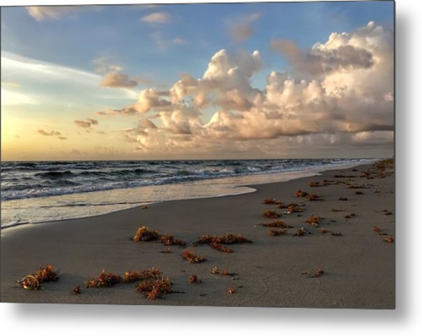 Cloudy Horizon  Metal Print