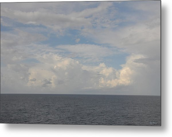 Cloudy Skys  Metal Print by Bill Perry