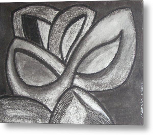 Clover Leaf Metal Print by Marsha Ferguson