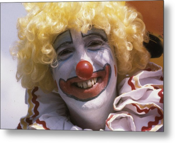 Clown-1 Metal Print