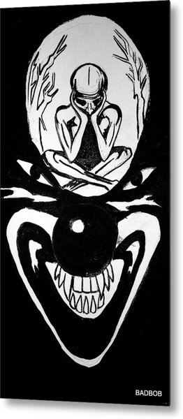Clowning Metal Print