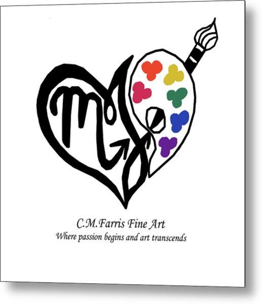 Cmfarris Logo Brand Metal Print