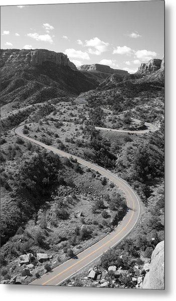 Cnm Switchbacks Metal Print