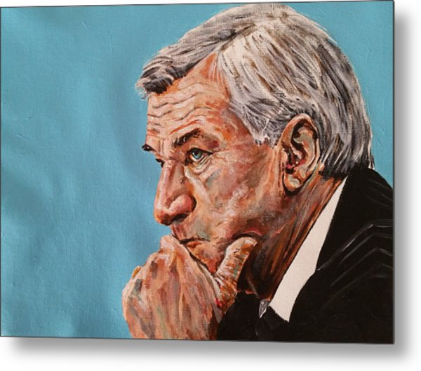 Coach Dean Smith Metal Print