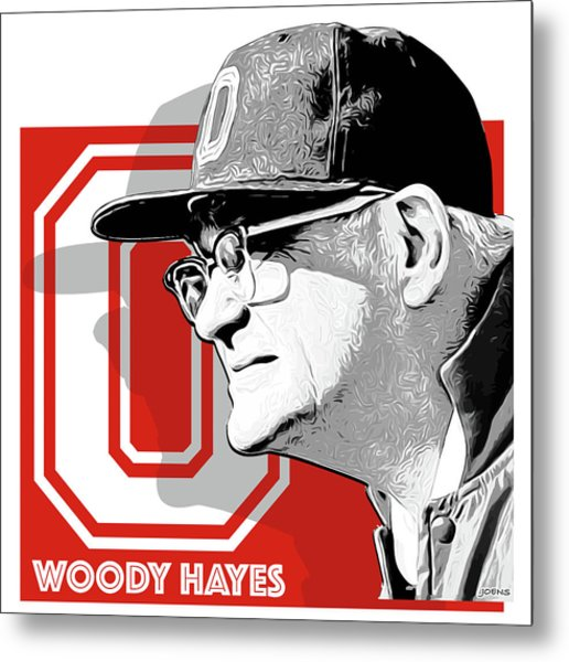 Coach Woody Hayes Metal Print