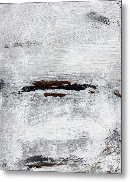 Coast # 10 Seascape Landscape Original Fine Art Acrylic On Canvas Metal Print
