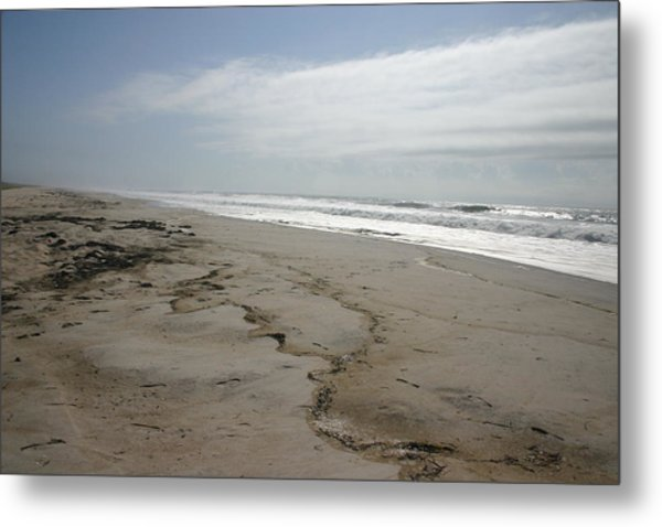 Coast Line Long Island Metal Print by Dennis Curry