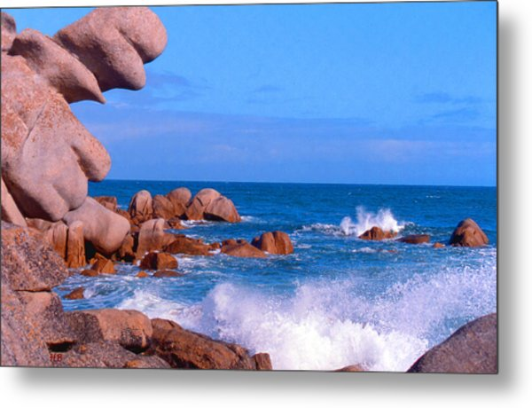 Coast Of Brittany Metal Print