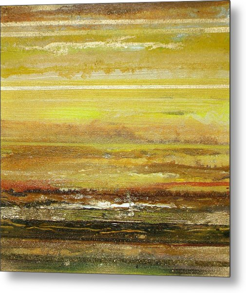 Coast Series Yellow Am9 Metal Print by Mike   Bell