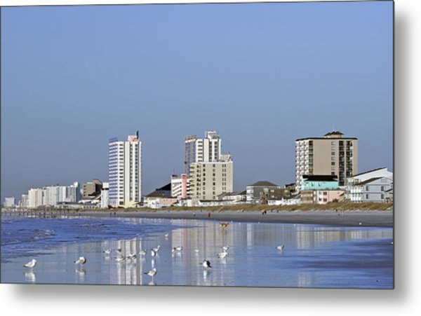 Coastal Architecture Metal Print