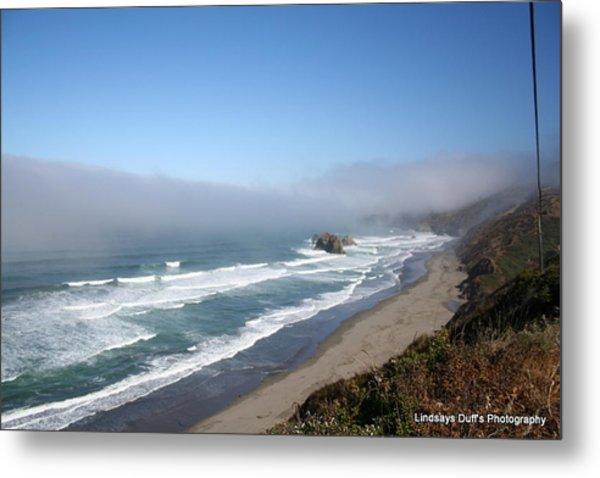 Coastal Beauty Metal Print by Lindsay Duff
