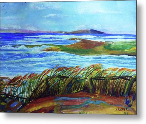 Coastal Winds Metal Print