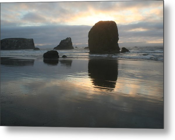 Metal Print featuring the photograph Coastal Light by Dylan Punke