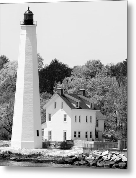 Coastal Lighthouse Metal Print