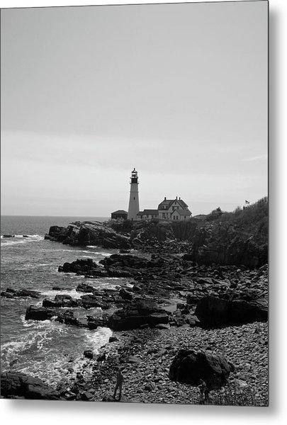 Coastal Maine Metal Print