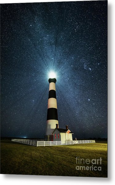 Coastal Nights Metal Print