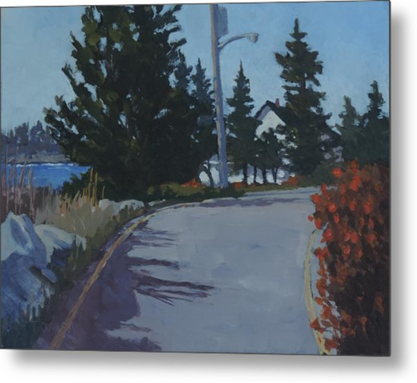 Coastal Road Metal Print