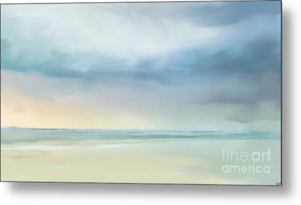 Coastal Vista Metal Print