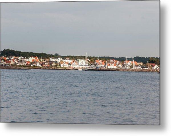 Coastline At Molle In Sweden Metal Print