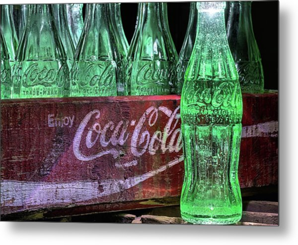 Coca-cola As Art Metal Print