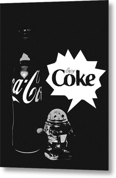Metal Print featuring the photograph Coca-cola Forever Young 9 by James Sage