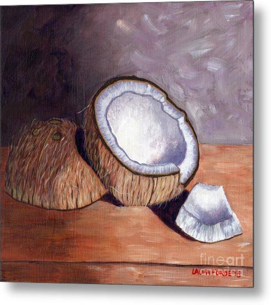 Coconut Anyone? Metal Print