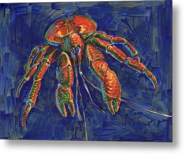 Coconut Crab Metal Print