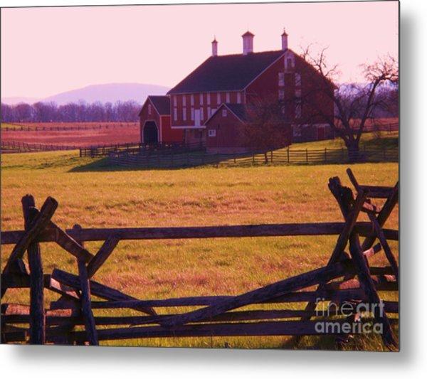 Codori Barn Gettysburg Metal Print