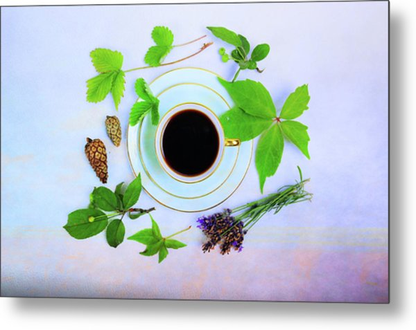 Coffee Delight Metal Print