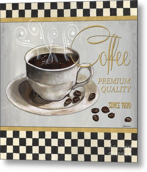 Coffee Shoppe 1 Metal Print