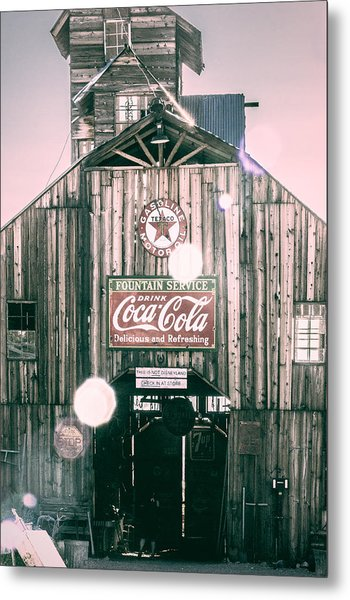 Coke Barn Metal Print