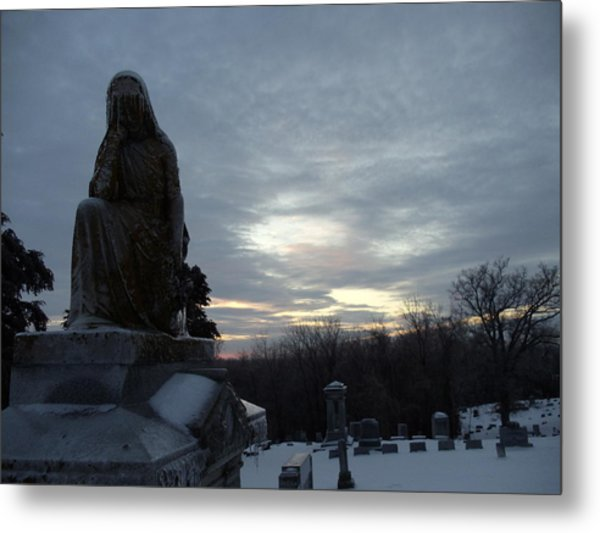 Cold And Lonesome Metal Print