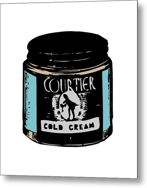 Metal Print featuring the digital art Cold Cream by ReInVintaged