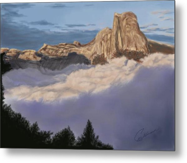 Cold Mountains Metal Print